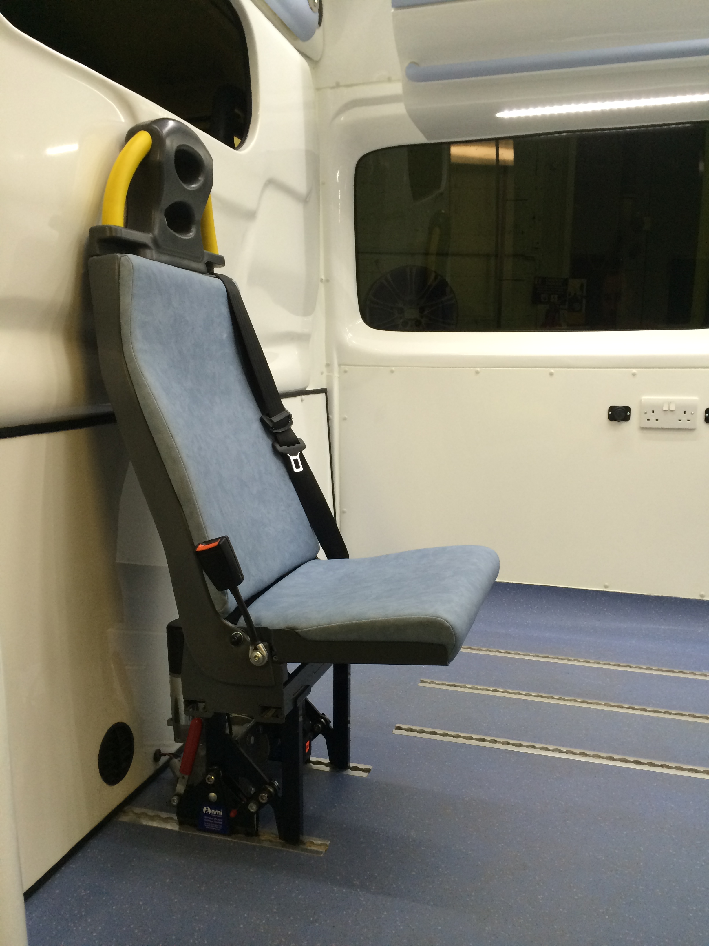 Rear Attendant S Seat Floor Track Nmi Safety Systems