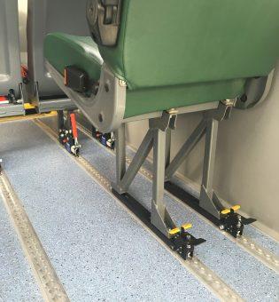 Lockable Seat Fitting - Ambulance