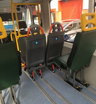Lockable Seat Fitting - Bus & Coach