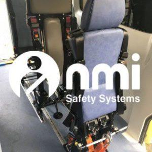 Wheelchair Tie Down & Passenger Back Headrest