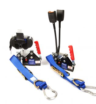 Wheelchair Tie Down & Belts - Local Authority