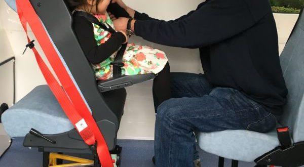 SitSafe bus seat